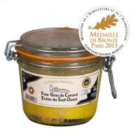 foie gras entier 400g canard sud ouest