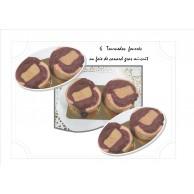 6 Tournedos fourrés au foie gras mi6cuit