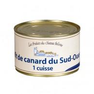 Confit de canard du Sud-Ouest 1 cuisse 380 g
