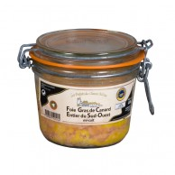 Foie gras canard entier du Sud-Ouest mi-cuit 400g