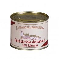 Pâté de foie de canard 50% foie gras de canard 190 g