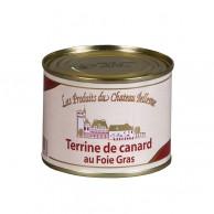 Terrine de canard au foie gras de canard (30 % foie gras) 190 g
