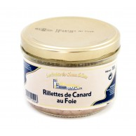 Rillettes de Canard au Foie 180g