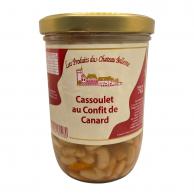 Cassoulet au confit de canard (2 parts) 765g