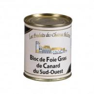 Bloc de foie gras de canard du Sud-Ouest 120g