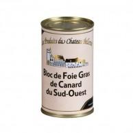 Bloc de foie gras de canard du Sud-Ouest 190g