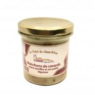Manchons de canard Sauce Morilles et ses petits légumes