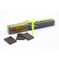 Réglette 25 Mini Tablettes de Chocolat Noir