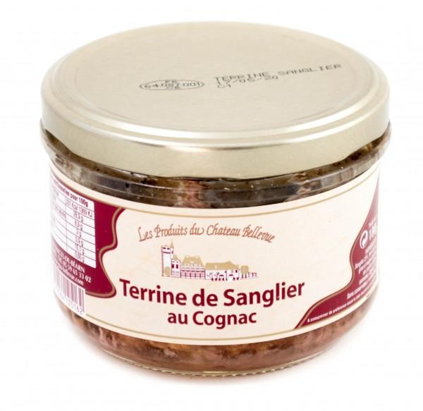 Terrine de Sanglier au Cognac