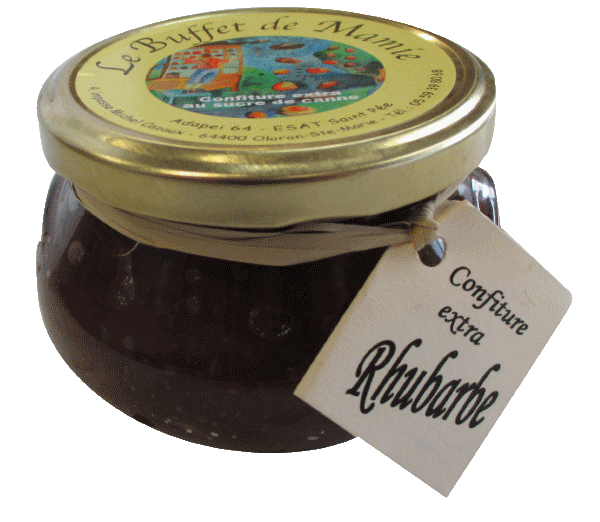 Confiture de Rhubarbe 320 g