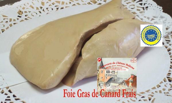 Foie Gras de Canard Frais IGP du SUD -OUEST