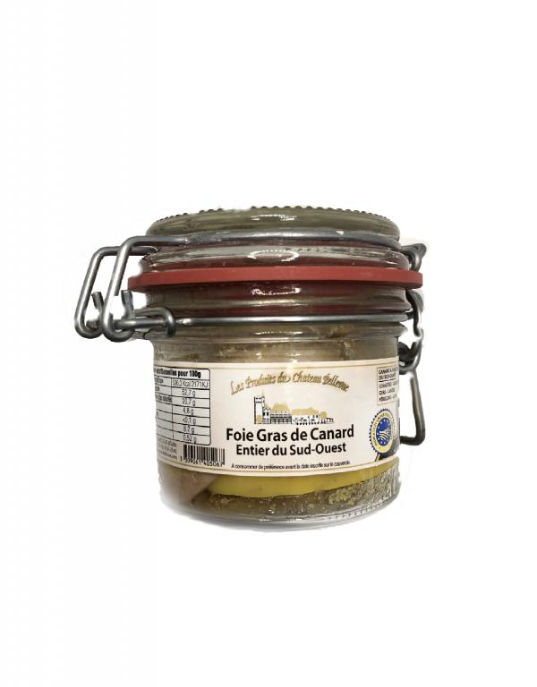Foie Gras de canard entier du Sud-Ouest bocal 90g
